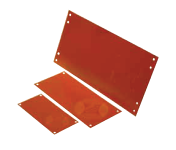 photopolymer cliches - magnet raster red